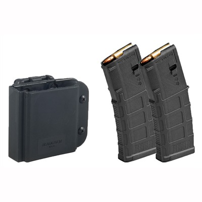 Blade-Tech Ar-15 Magazine Pouch W/ 2 30-Rd Pmags Brownells.
