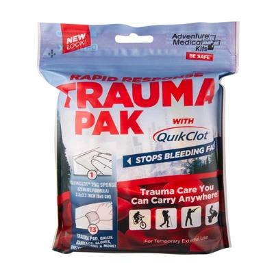 Rapid Response Trauma Pack W/quikclot Adventure Medical Kits.