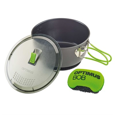 The Optimus Terra Xpress HE Cooking Pot is built ruggedly and perfectly sized for use in all of your wilderness adventures, ensuring ...