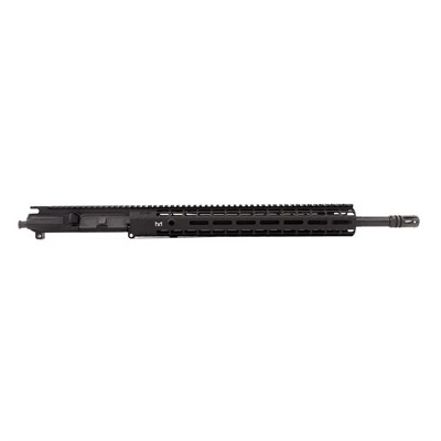 "The M4E1 5.56mm 18"" Rifle Upper Receiver adds two important benefits to Aero Precision's M4E1 carbine upper. First, the longer 18"" barrel ..."