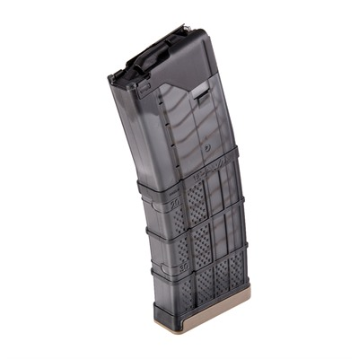 Ar-15 L5awm 300blk Translucent Smoke Magazine 30rd Lancer Systems.