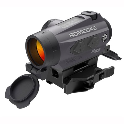 Romeo4s Solar Qr Ballistic Circle-Plex Red Dot Sight Sig Sauer.