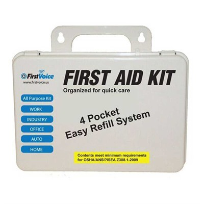First Voice Deluxe First Aid Kit Think Safe Inc.