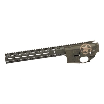 Ar-15 M4e1 Us Military Branch Builder Sets 5.56 Mm Aero Precision.
