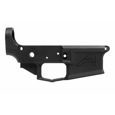 Aero Precision's M4E1 Stripped Lower Receiver delivers the strength and unique looks of a billet machined lower, with the lower cost, lighter ...