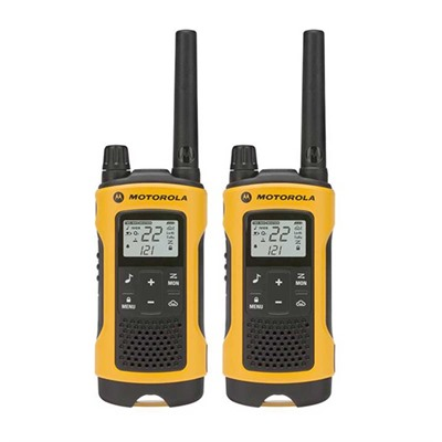 Talkabout T400 Yellow 35 Mile Two-Way Radio Motorola.