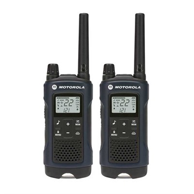 Talkabout T460 Blue 35 Mile Two-Way Radio Motorola.
