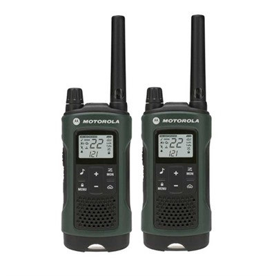 Talkabout T465 Green 35 Mile Two-Way Radio Motorola.