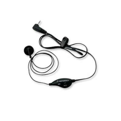 Earbud With Push-To-Talk Microphone Motorola.