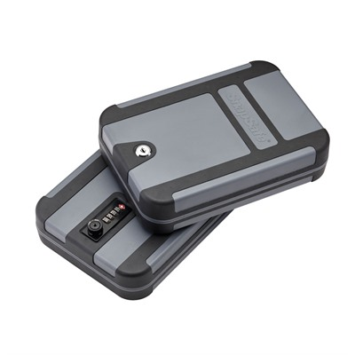 Treklite X-Large Lock Box W/ Key Lock Snap Safe.