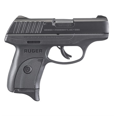 "Ec9 9mm 7+1 3.12"" Black Ruger."