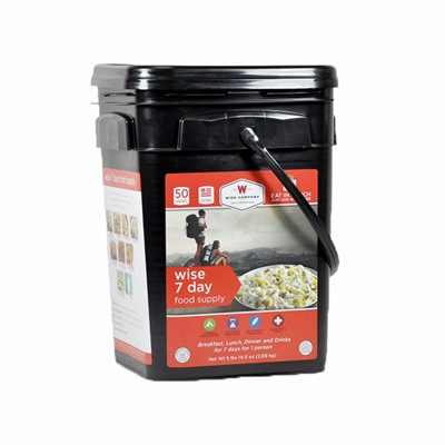 Outdoor 7 Day Food Supply Bucket Wise Foods.