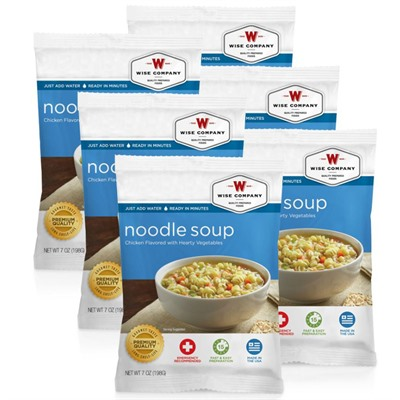 4 Serving Chicken Noodle Soup Wise Foods.