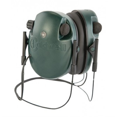 E-Max Low Profile Electronic Behind The Neck Hearing Protection Caldwell Shooting Supplies.