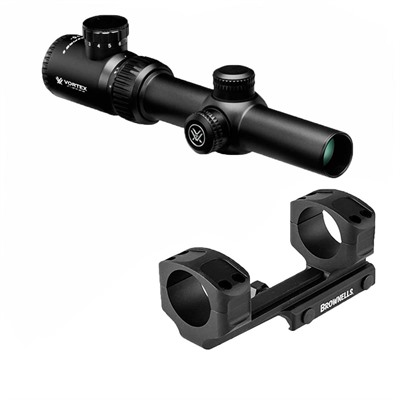 Crossfire Ii 1-4x24mm Scope V-Brite Reticle Vortex Optics.