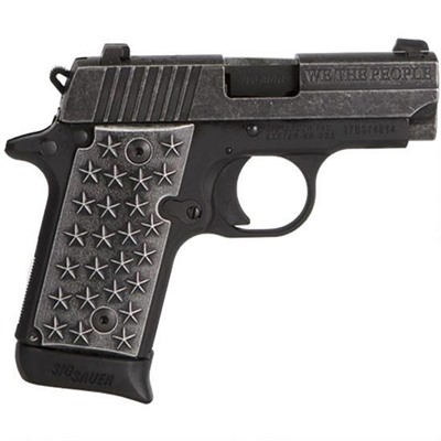 "P238 ""we The People"" 380 Acp 7+1 Sig Sauer."