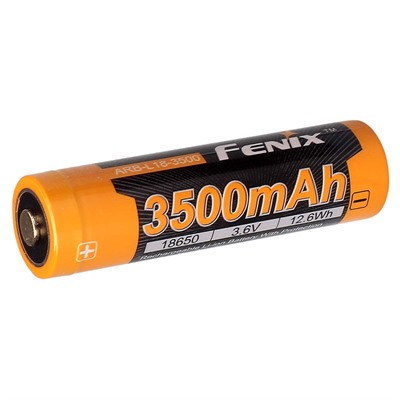 18650 (3.6v) 3500 Mah Rechargeable Li-Ion Battery Fenix Lighting.