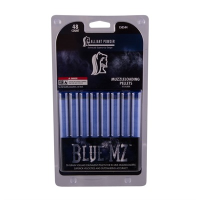 Blue Mz Black Powder Substitute Pellets Alliant Powder.
