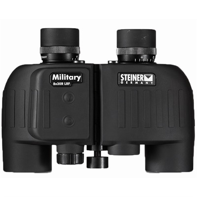 M830r 8x30mm Laser Rangefinding Military Binos W/sumr Reticle Steiner Optics.