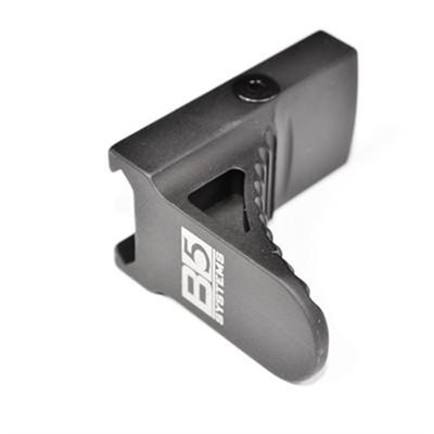 B5 Systems GripStop acts as an all-in-one hand stop, vertical grip, and barrier stop. The GripStop features a curved serrated side to ...