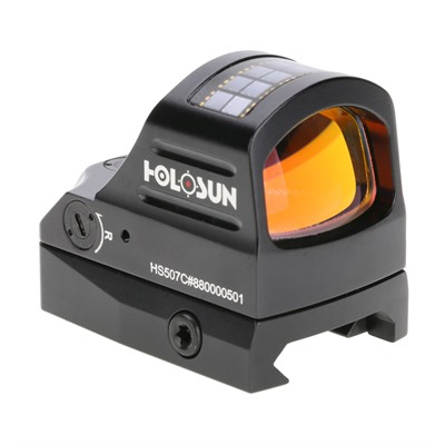 Hs507c Solar Red Dot Micro Sight Holosun.
