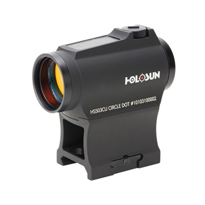 Hs503cu Solar Circle Dot Micro Sight Holosun.