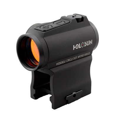 Hs503gu Circle Dot Micro Sight Holosun.