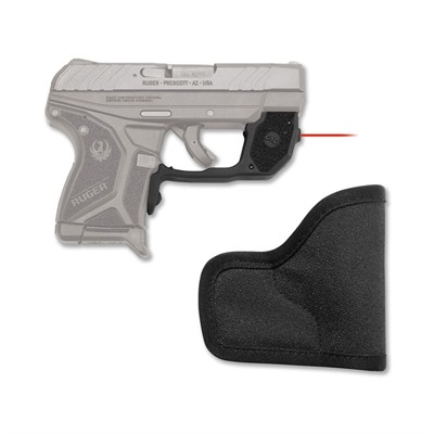 Ruger LCP II Laserguard Red With Pocket Holster