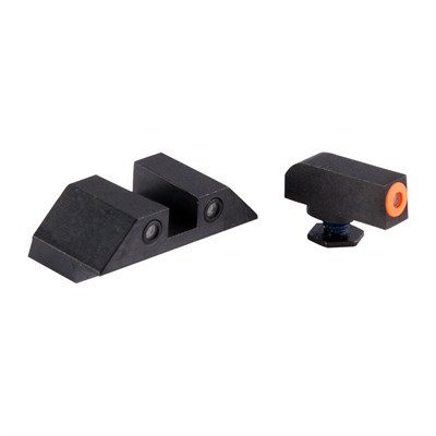 Perfect Dot Tritium Night Sights For Glock Night Fision.