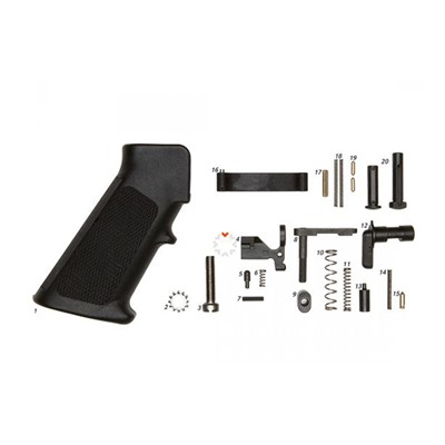 Ar-15 Mil-Spec Lower Parts Kit W/ Grip, No Trigger Geissele Automatics Llc.