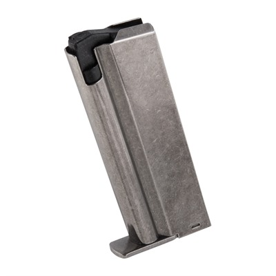 "Reproduction 9 and 7-round magazine for the AMT Automag II chambered in 22 WMR. The 9-rd magazine only fits 4"" and 6"" ..."