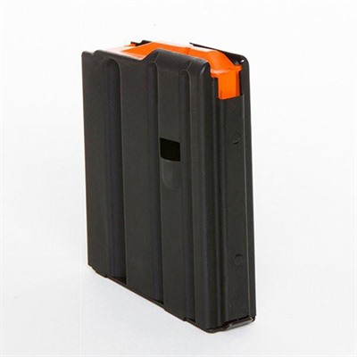Ar 10-Round Black .223 Magazine W/orange Follower C-Products.