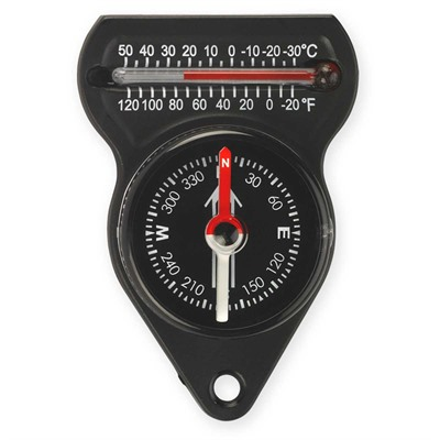Mini Compass With Thermometer Ndur.