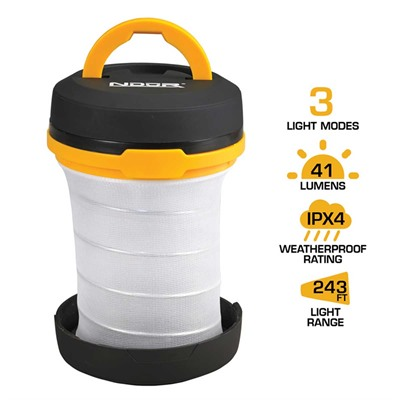 Pop-Up Lantern With Flashlight Ndur.