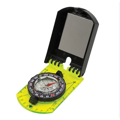 Hi Vis Folding Map Compass Ultimate Survival Technologies.