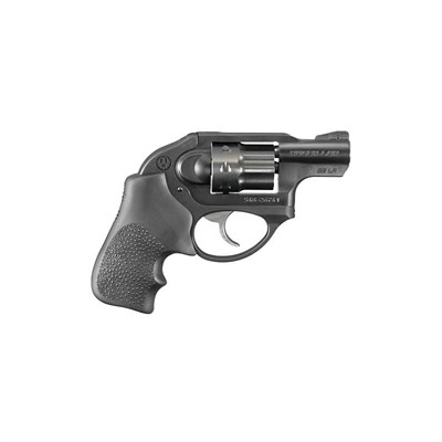 Lcr 1.875in 38 Special Black Hogue Tamer Fixed 5rd by Ruger