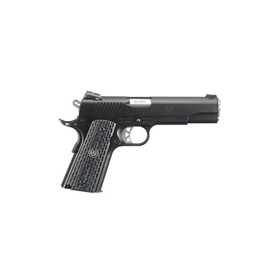 Sr1911 Night Watchman 4.25in 45 Acp Ss Micarta Grips Fixed 7+1rd by Ruger