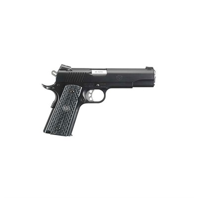 Sr1911 Night Watchman 5in 45 Acp Stainless w/Nitride Finish 8+1rd by Ruger