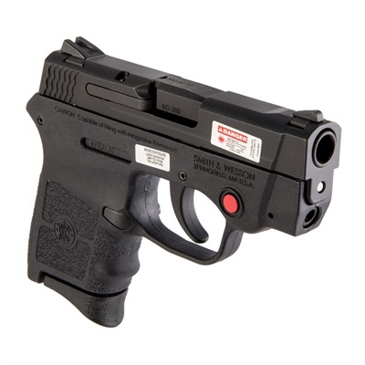 Bodyguard Red Laser 2.75in 380 Auto Black Polymer Adj 6+1rd Smith & Wesson.