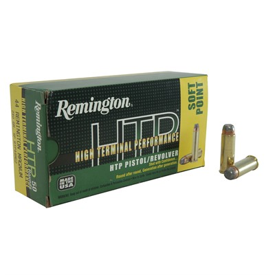High Terminal Performance Ammo 44 Remington Mag 240gr Jsp Remington.