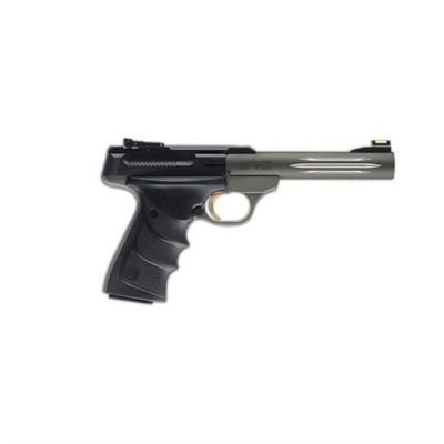 Buck Mark Challenge 5.5in 22 Lr Matte Gray 10+1rd by Browning