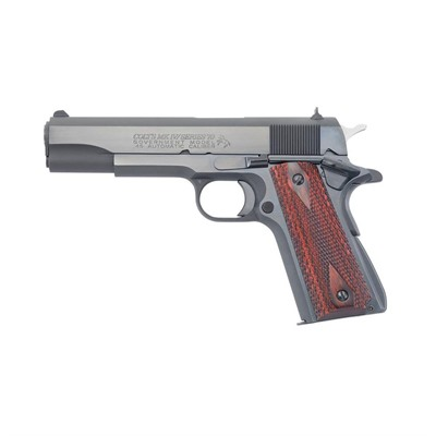 Series 70 Government 5in 45 Acp Blue 8+1rd Colt.
