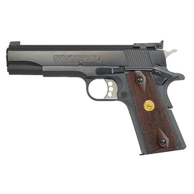 Gold Cup National Match 5in 45 Acp Blue 8+1rd by Colt