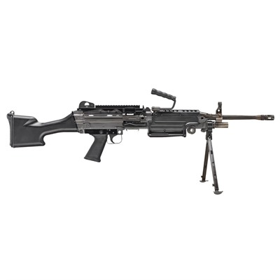 M249s 20.5in 5.56x45mm Nato Matte Black 30+1rd Fn.