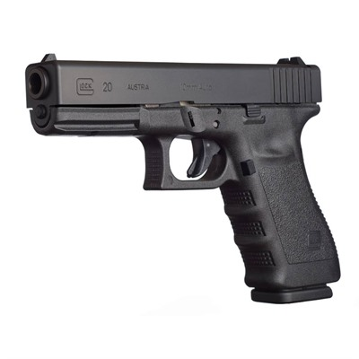 G20sf 4.6in 10mm Gas Nitride 15+1rd Glock.