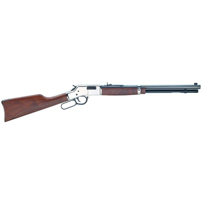 Big Boy Silver Deluxe Engraved 20in 45 Colt Blue 10+1rd by Henry Repeating Arms
