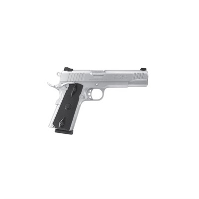 Pt-1911 5in 45 Acp Stainless Black Polymer Fixed 8+1rd by Taurus