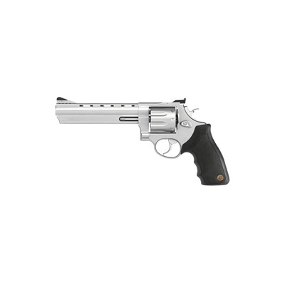 608 6.5in 357 Magnum | 38 Special Matte Stainless 8rd by Taurus