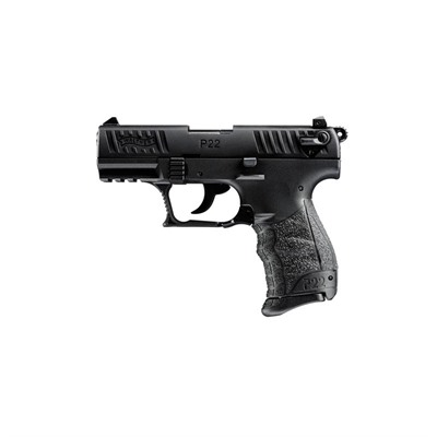 P22 3.42in 22 Lr Black 10+1rd Walther Arms Inc.