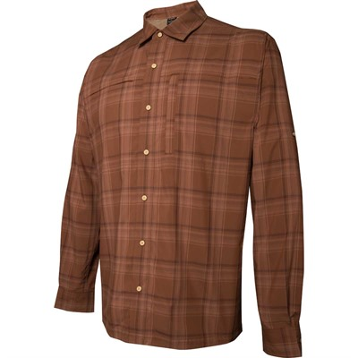 Long Sleeve Speed Concealed Carry Shirt Bark Small .